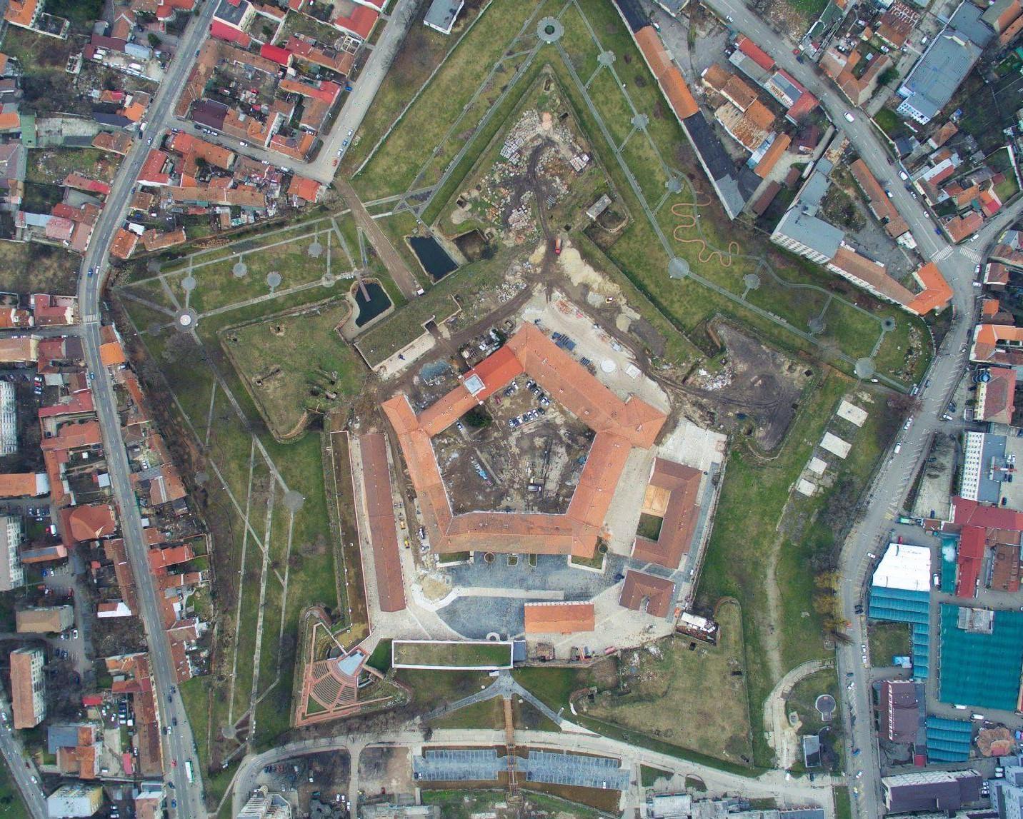 Cetatea-Oradea-in-santier